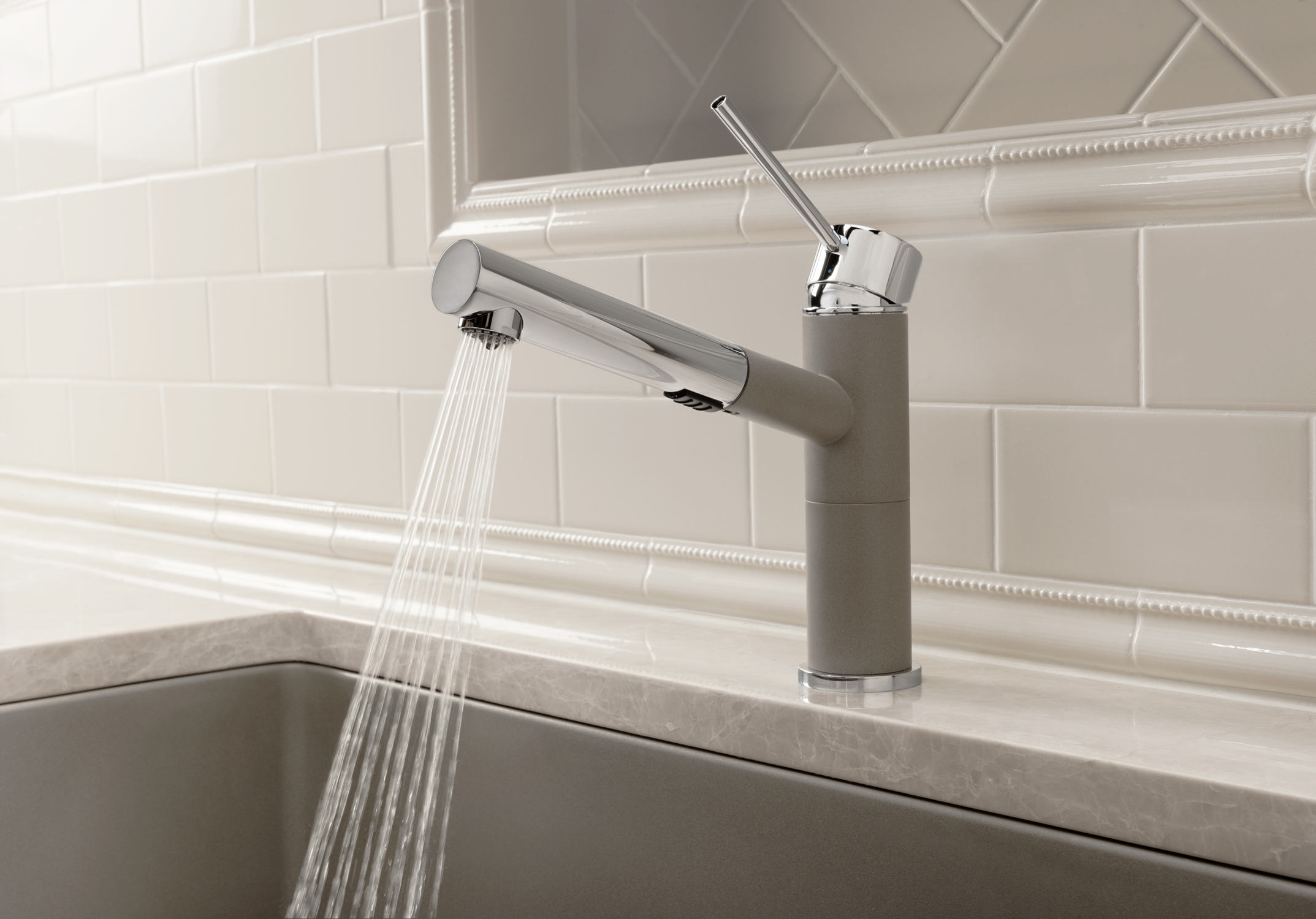 Superieur BLANCOu0027s New Kitchen Faucet Collection Features The ALTA Compactu2022  Extendable Pull Out Design With Dual Spray Feature. Especially Suitable For  Compact Sinks ...