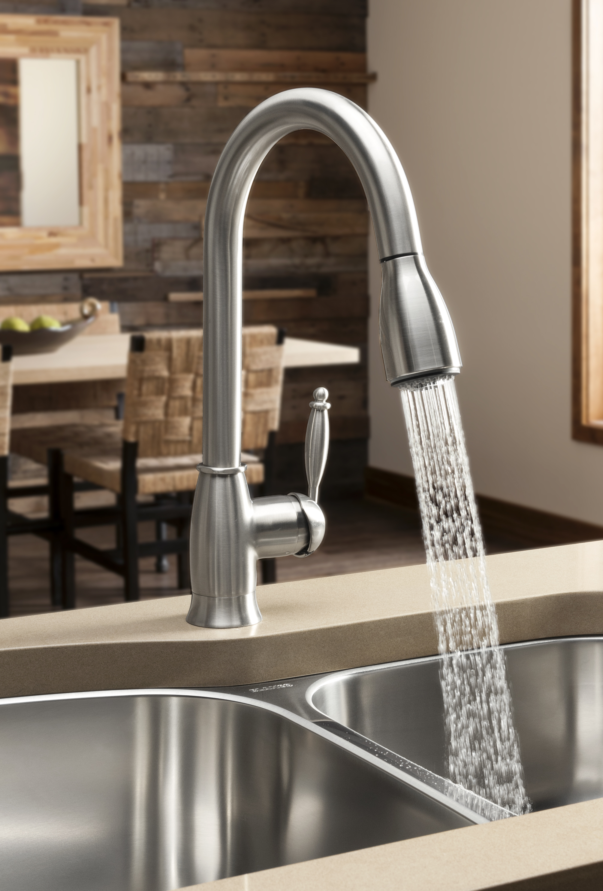 blanco makes a splash with new water saving kitchen faucet