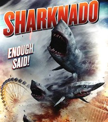 sharknado,killer shark movies,bad movies,horror flicks,marine horror flicks,twitter,Damon Lindel,tweets