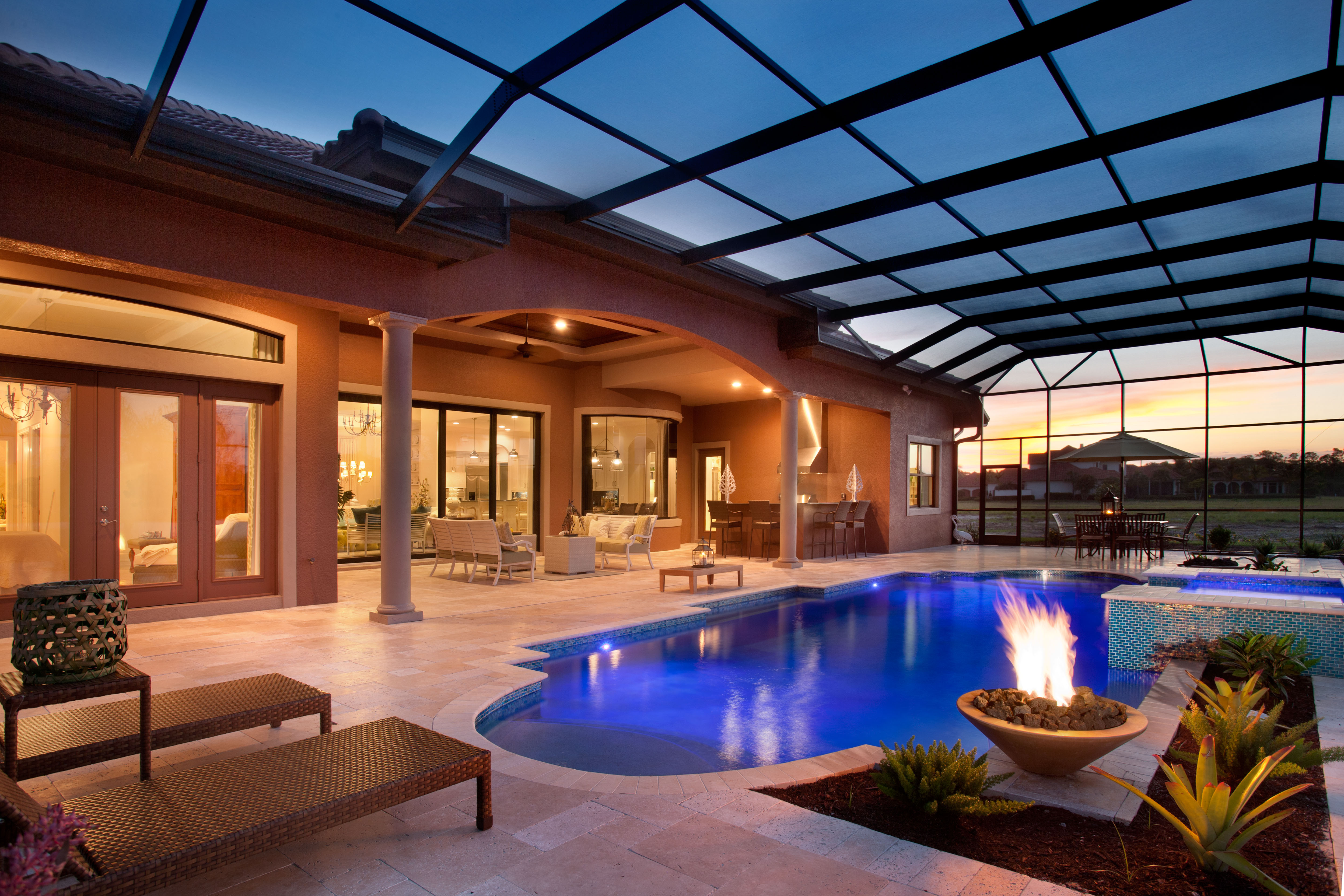 Serenity pool spa of bonita springs florida earns honor for Spa builders