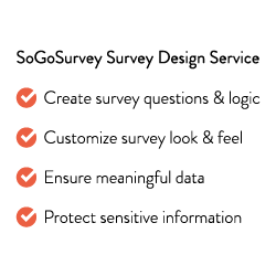 SoGoSurvey Survey Design Service