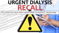 Dialysis Drug Recall Warning