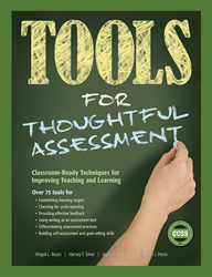 Tools for Thoughtful Assessment contains over 75 easy-to-use tools to help teachers at all grade levels respond to the key challenges associated with classroom assessment. Connections to the Common Core are highlighted throughout the book.