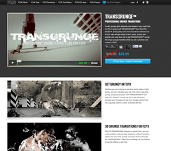 Final Cut Pro X Effects and Plugins - Pixel Film Studios - TRANSGRUNGE - Grunge - Transitions