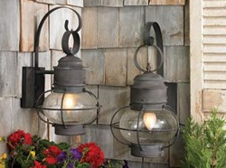 Artistic Lighting Sag Harbor Collection - Charcoal Wall Lantern 5762-C