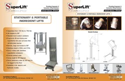 Staionary & Portable Ingredients Lifts