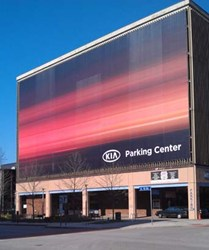 KIA Parking Center in downtown Cleveland