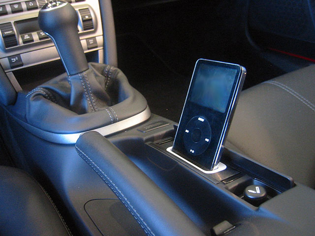 2006 Porsche Boxster >> spec.dock - Car iPhone Dock for Porsche Now Updated with Lightning Connector