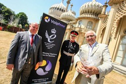 UK VoIP Provider Voipfone Receive The Queens Award For Enterprise From The Lord Lieutenant Peter Field
