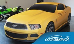 Coverking Printed Custom Car Cover for Ford Mustang