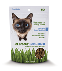 Pet Greens Semi-Moist Cat Treats - Ocean Whitefish