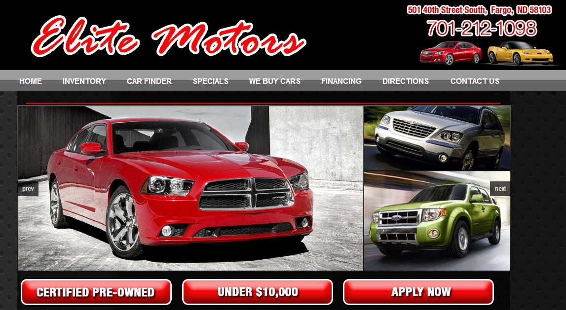 Dealer website solutions develops site for Law motors sioux falls sd