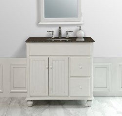 Has Introduced A Guide To Beadboard Bathroom Vanities For A Cottage Style Bathroom