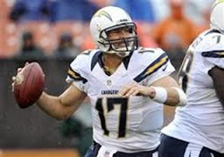 Chargers Quarterback Phillip Rivers