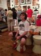 Little Boy Listens to Audio Tour • Ground Zero Museum Workshop, NYC