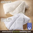Luxury Bamboo Bedding Announces The Finest Silk and Canadian Hutterite White Goose Down Duvets to Complement Their Successful Collection of Bamboo Sheets
