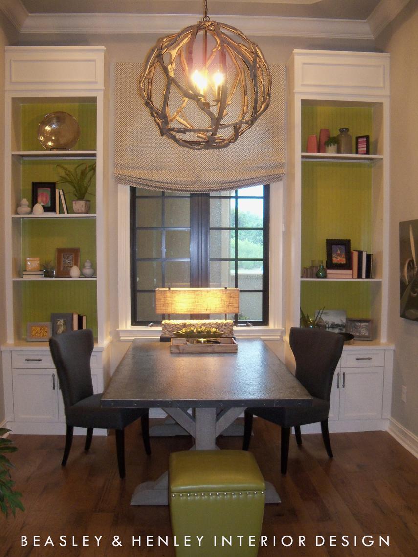 Wood Flooring In The Study Beasley Henley Interior Design
