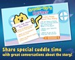 Cuddle up and start a conversation with your little one with our Grown-Up's Corner