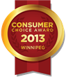 2013 Winnipeg Consumer Choice Award Winners