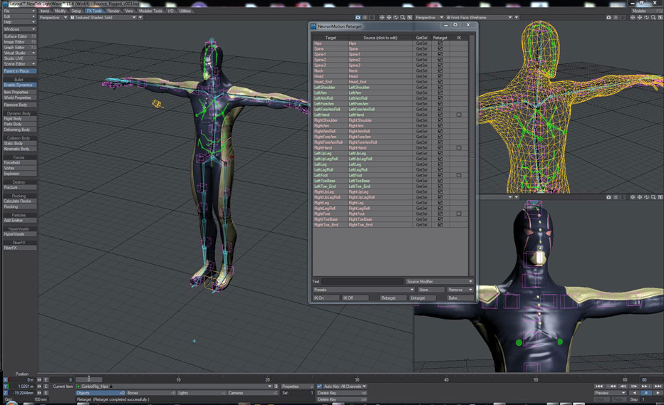 how to use kinect for motion capture