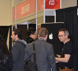 Job Fairs at major events such as Photonics West 2013 are among services of the SPIE Career Center.
