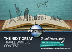 Next Great Travel Writers Contest