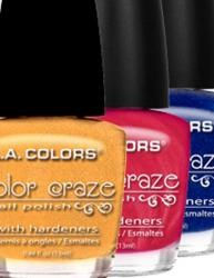 L.A. Colors Sparkly Nail Polish