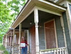 Row of shotgun houses the focus of Adventures in Preservation and Norla project