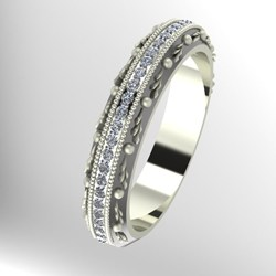 Custom Jewelry Design : Antique Wedding Band