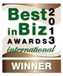 BiBA 2013 International bronze winner logo