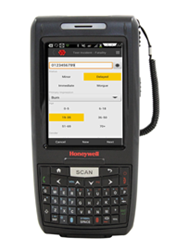 Patient Tracking Mobile on Honeywell's Dolphin 7800 Hand-Held Computer.
