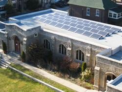 AeroRack, KB Racking, Solar mounting system, solar racking system, solar energy, flat rooftop, solar installation, solar, church, kW