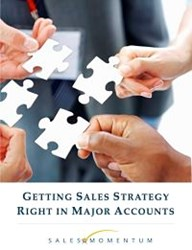 Getting Sales Strategy Right in Major Accounts