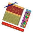 4 PIece Lefty's Curly Q College-ruled Notebook Set