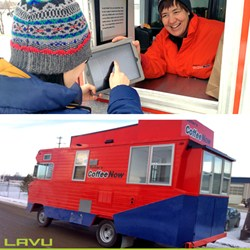 mobile food truck pos by Lavu iPad POS