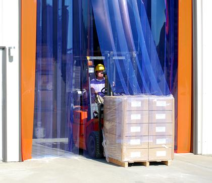 High Wind Strip Door ... & A Plus Warehouse Announces Delivery Truck Strip Door as Product of ...