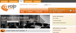 New VoIP Supply Blog Network