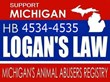 Animal Support Backs New Michigan Law to Create Animal Abuse Registry