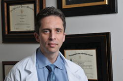Dr. Lev Khitin, NY vein specialist, bulging vein problems