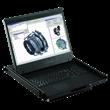 Rackmount LCD KVM Drawer, LCD monitor, Rackmount LCD/Keyboard tray