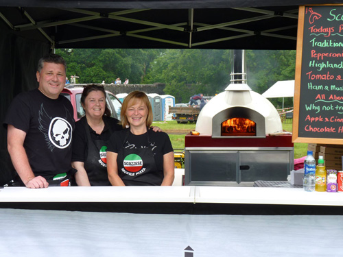 Wood Stone Pizza Wood Fired Pizza on Wheels