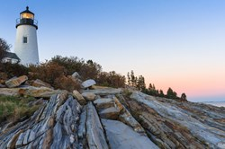 Penaquid Point Lighthouse in Maine