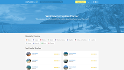 Explore Corner: Beach Reviews, Beach Photos and a Travel Guide.
