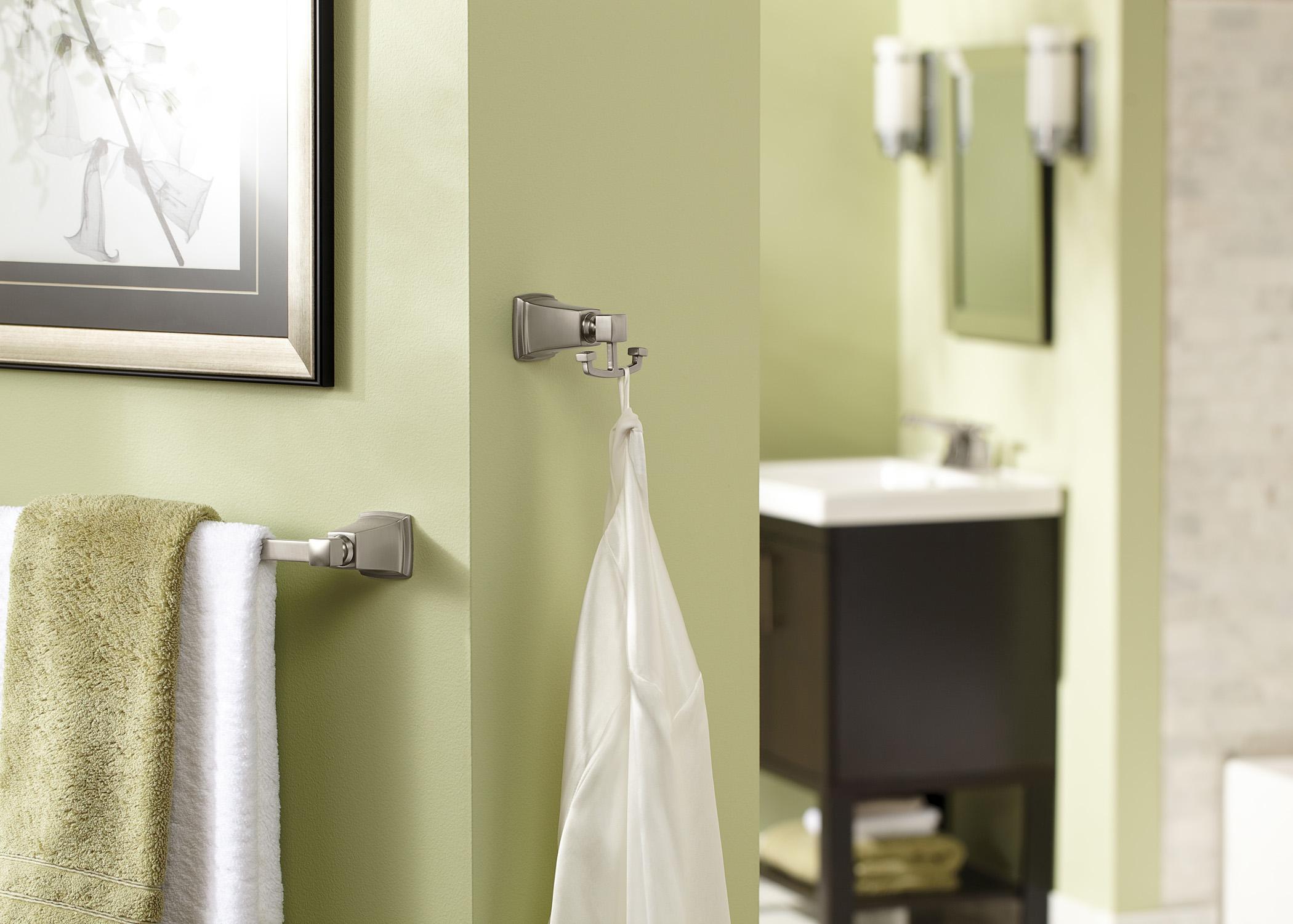 Simple Moen Bathroom Collections Boardwalk Accessories In Spot Resist Brushed Nickel R Inside Ideas