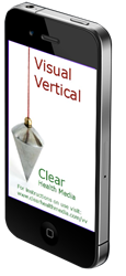 The Visual Vertical App from Clear Health Media.