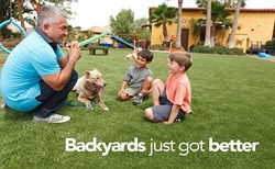 Cesar Millan EasyTurf Backyards Dog Dogs