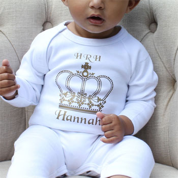 Royal Babygrow Gift