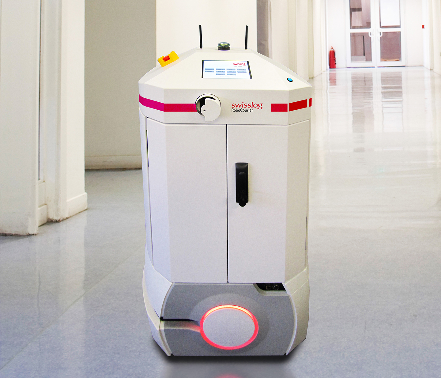 Swisslog Introduces Next Generation Robocourier