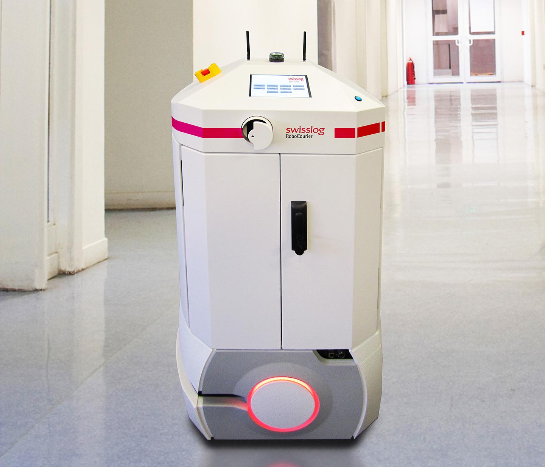 Swisslog Introduces Next Generation Robocourier
