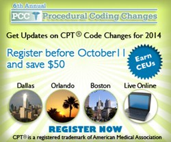 6th Annual Procedural Coding Changes Workshop
